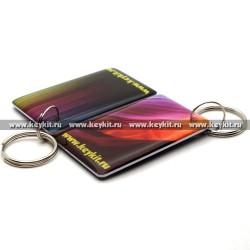 """Мини карта Epoxy """"KeyKit"""" 50*30 мм"""