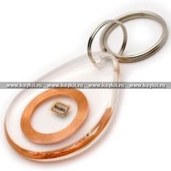 Брелок - заготовка слеза (чип H7) антифильтр
