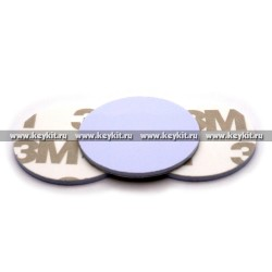 Брелок - заготовка MF Zero самоклеящийся диск 25 мм
